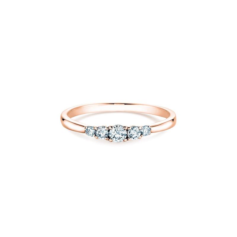 5 Diamonds Verlobungsring