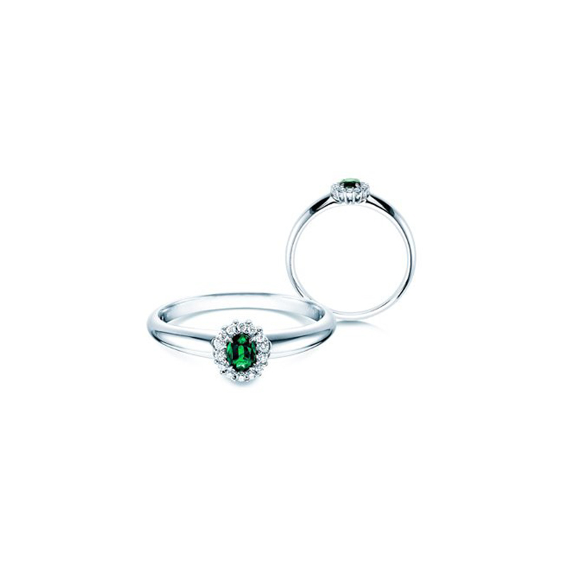 Smaragdring Jolie Verlobungsring