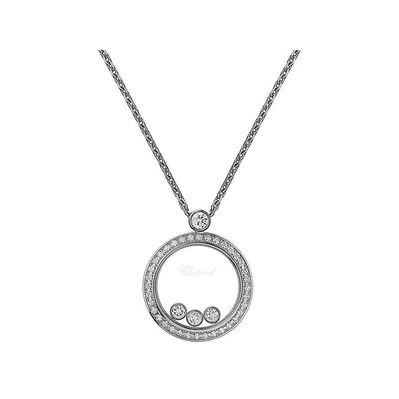 Happy Diamonds Icons Round Collier