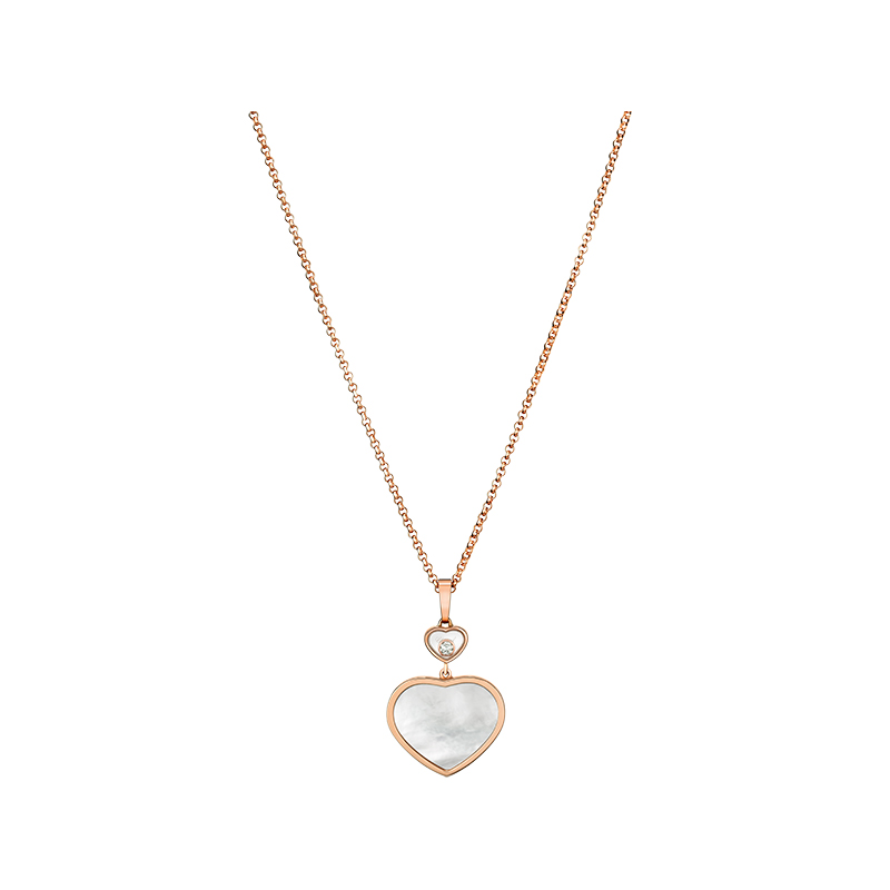 Happy Diamonds Happy Hearts Collier