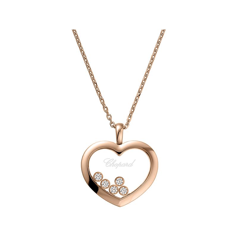 Happy Diamonds Icons Heart Collier