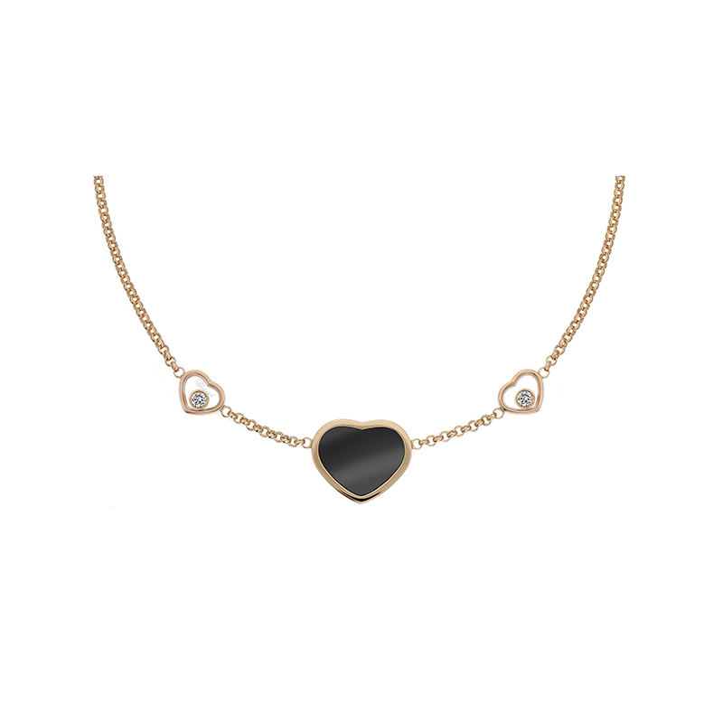 Happy Diamonds Happy Hearts Collier