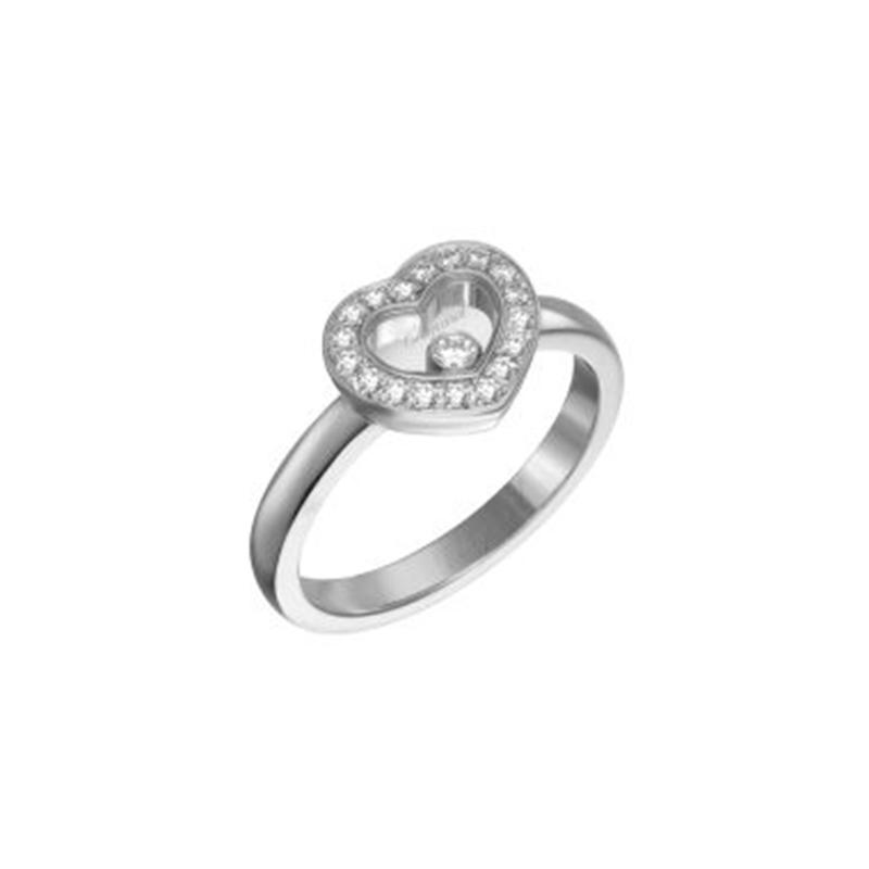 Happy Diamonds Ring Icons Heart