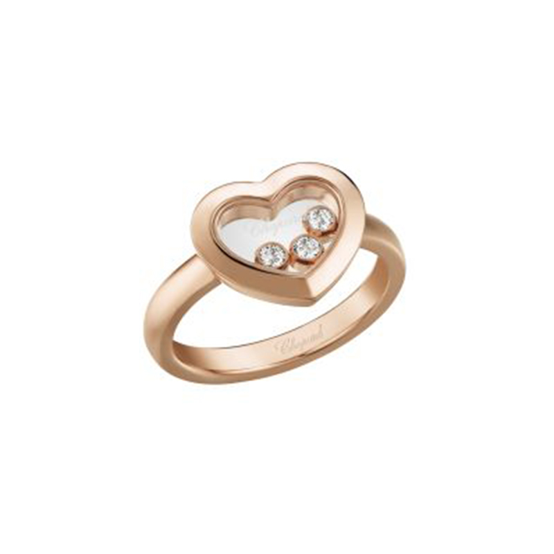 Happy Diamonds Ring Icons Heart