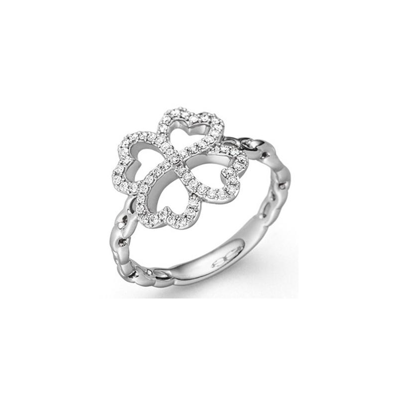 Forever Lucky Leaf Ring