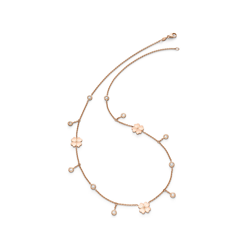 Rosegarden Lucky Leaf Collier
